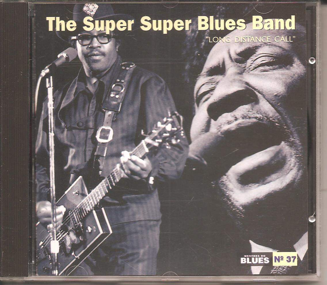 CD THE SUPER SUPER BLUES BAND