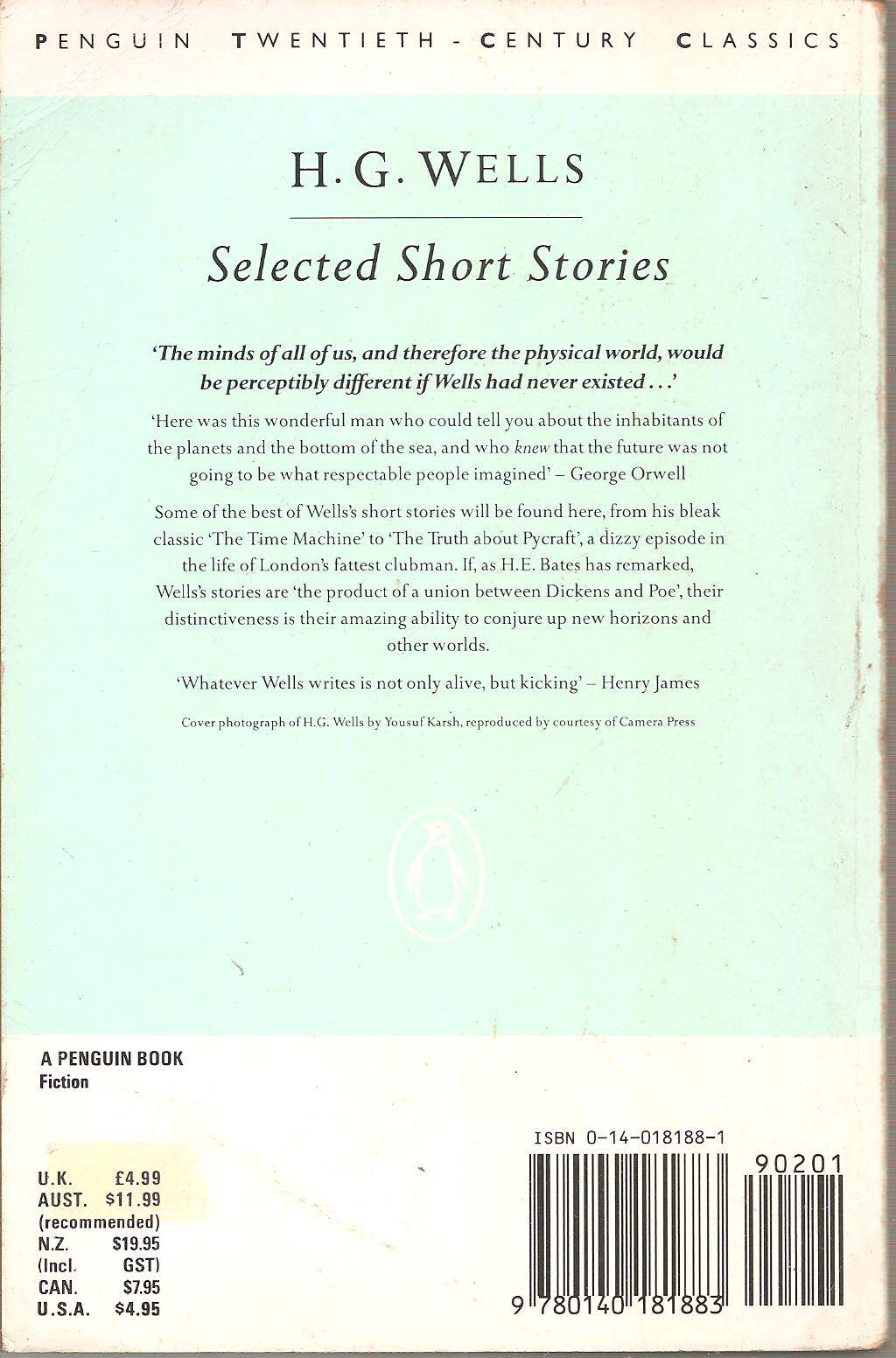 LIVRO SELECTED SHORT STORIES