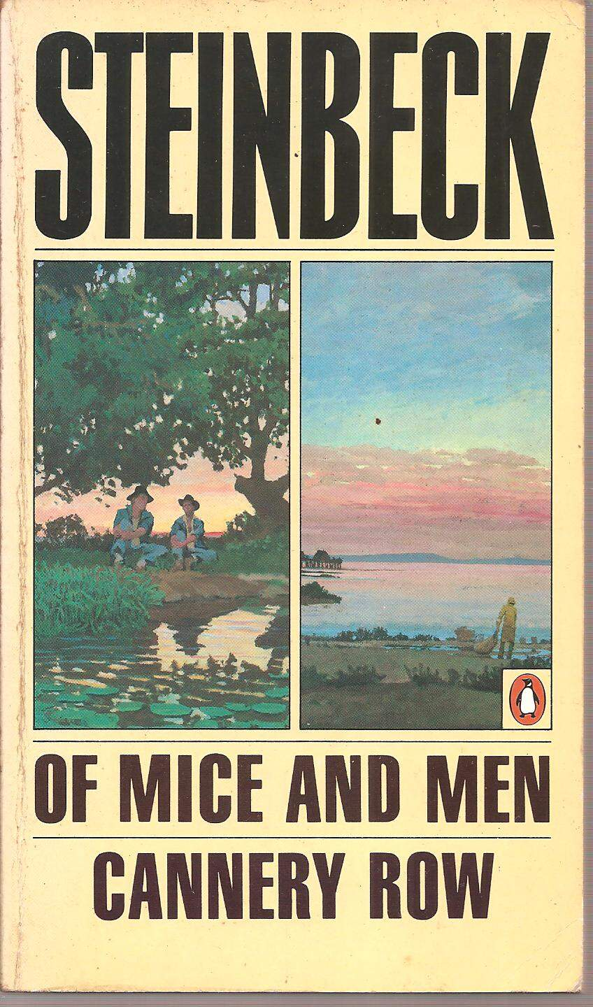 LIVRO OF MICE AND MEN CANNERY ROW