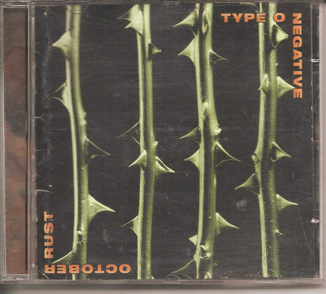 CD TYPE O NEGATIVE - OCTOBER RUST