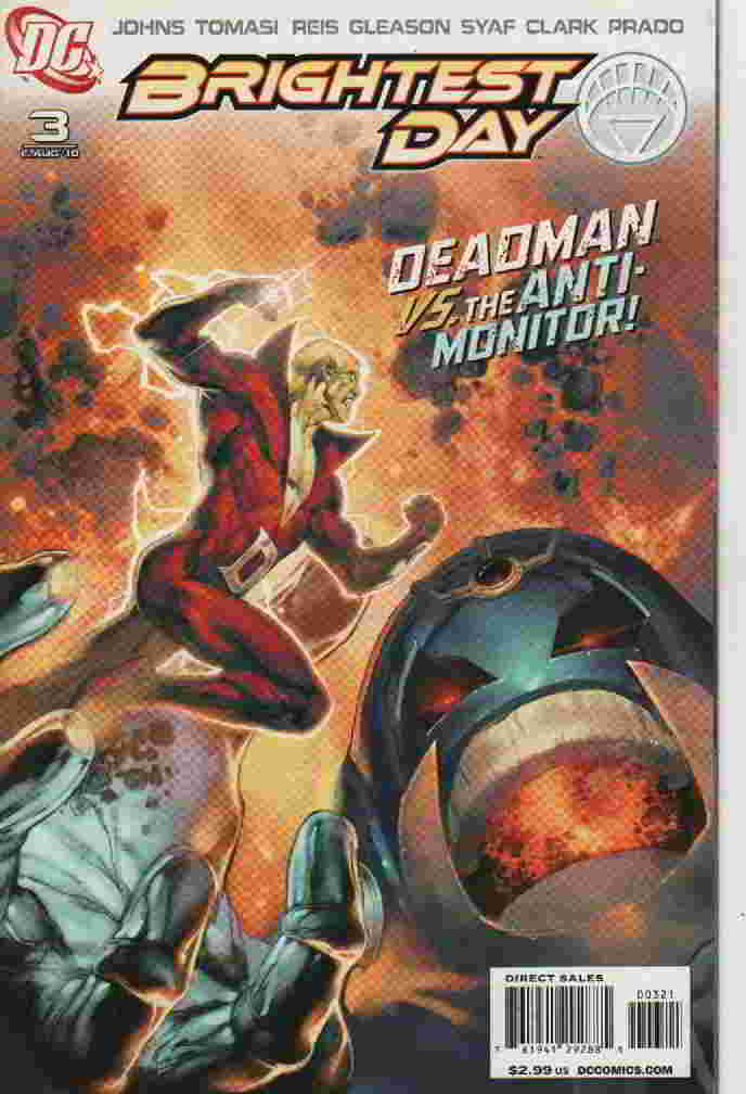 BRIGHTEST DAY Nº 03 -- DEADMAM VS. THE ANTI-MONITOR