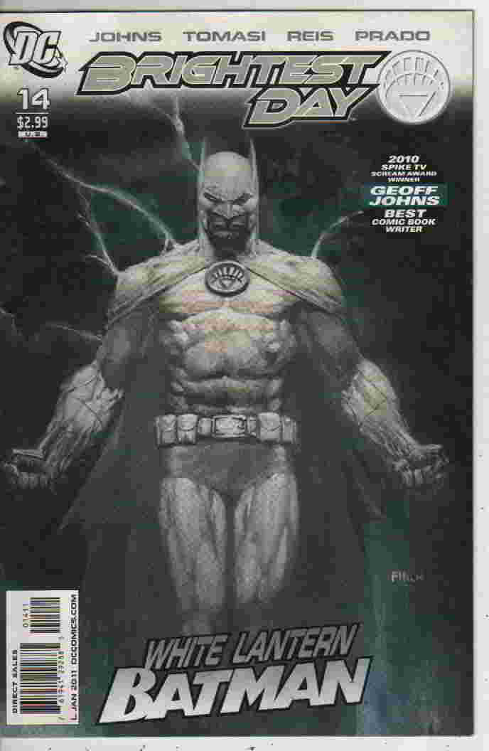 BRIGHTEST DAY  Nº14   --WHITE LANTERN BATMAN