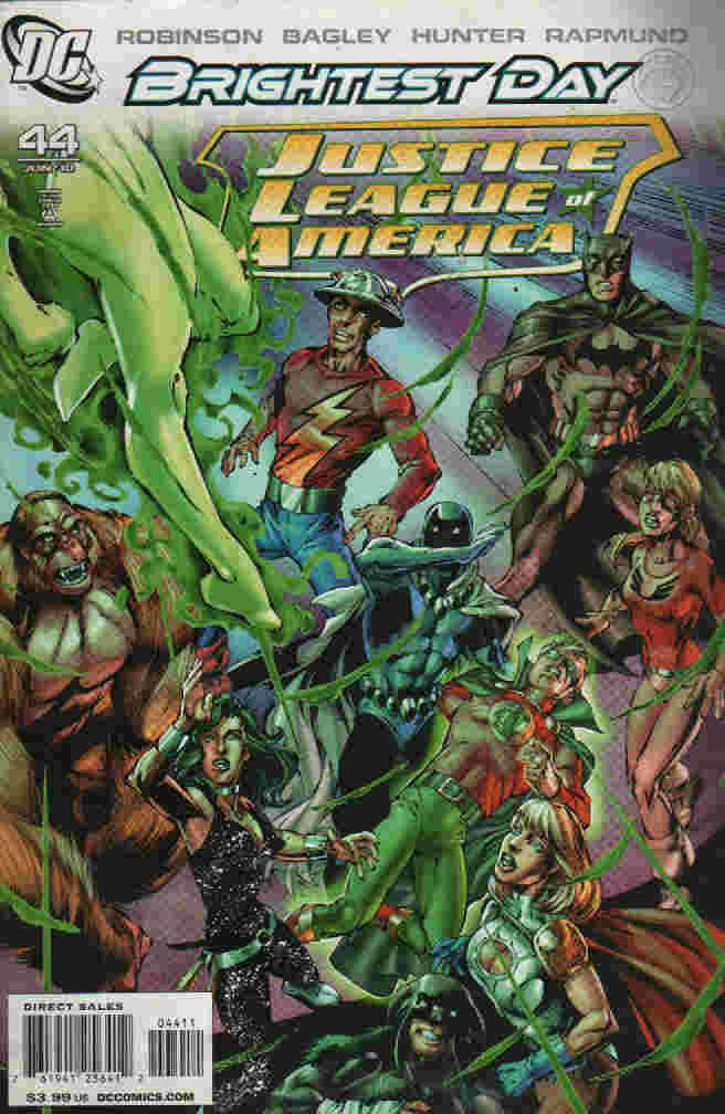 BRIGHTEST DAY ----JUSTICE LEAGUE OF AMERICA  Nº 44
