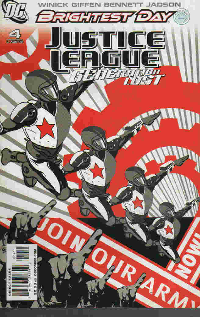 BRIGHTEST DAY ----JUSTICE LEAGUE  -GENERATION LOST Nº 04