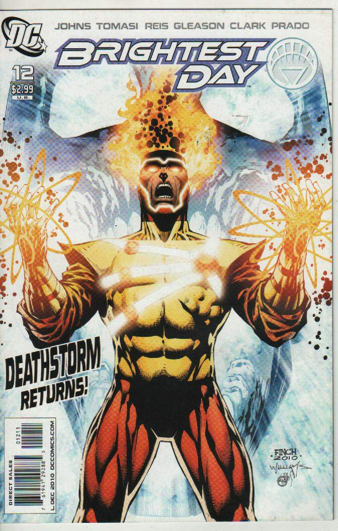 BRIGHTEST DAY  Nº 12 --DEATHSTORM RETURNS !