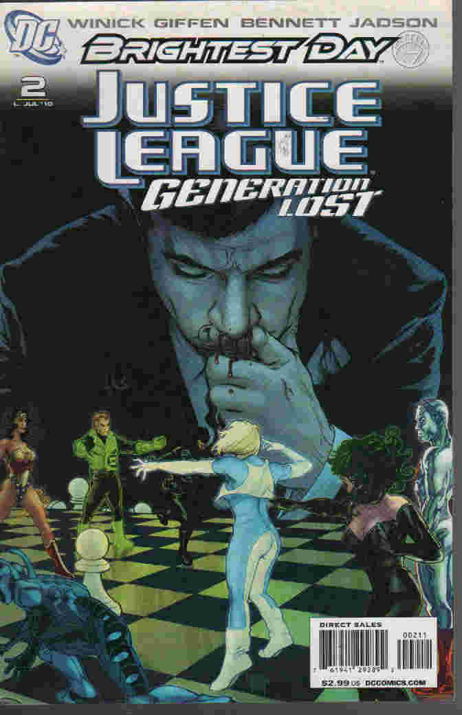 BRIGHTEST DAY -- JUSTICE LEAGUE GENERATION LOST Nº 02