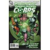 BRIGHTEST DAY  -- GREEN LANTERN CORPS Nº 47 -- BLACKEST NIGHT epilogue!