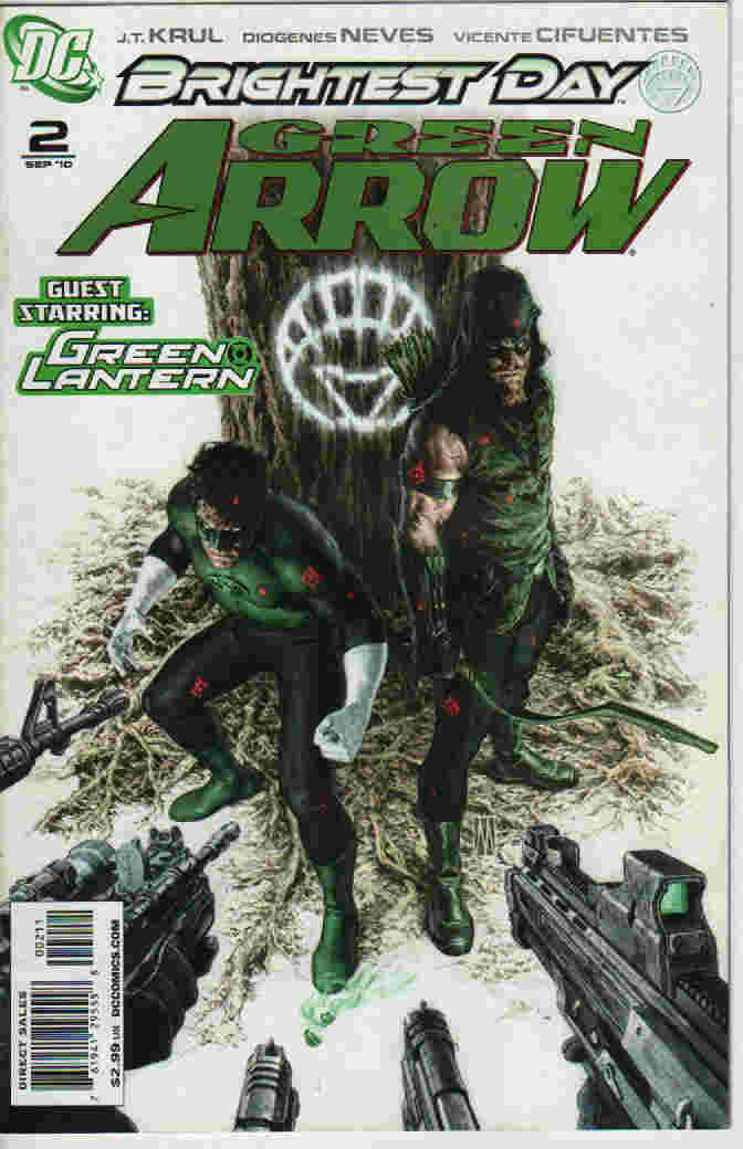BRIGHTEST DAY -- GREEN ARROW Nº 02