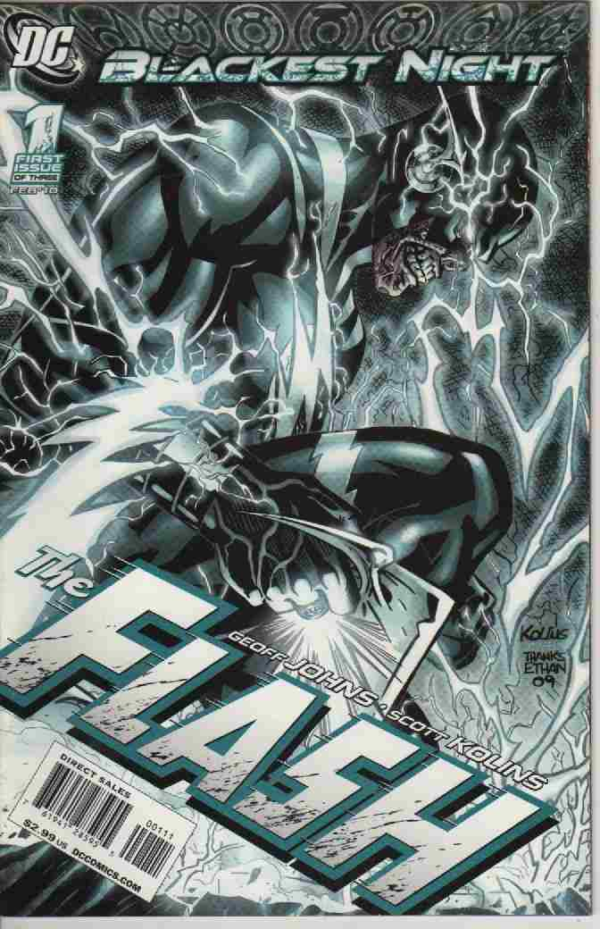BLACKEST NIGHT -- THE FLASH  Nº 1