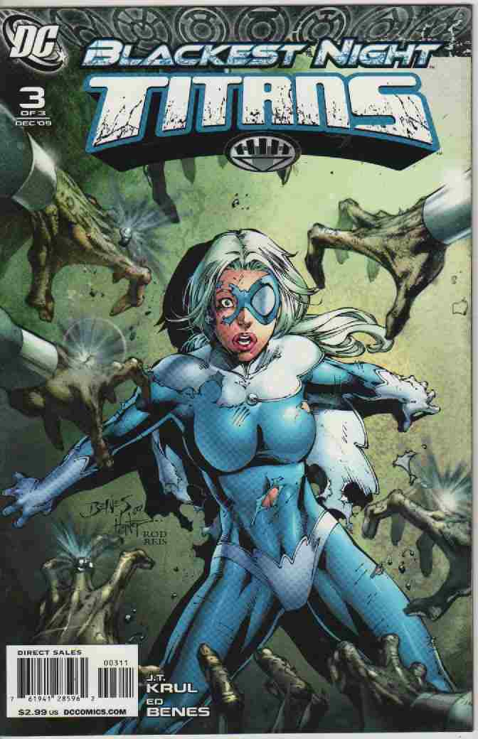 BLACKEST NIGHT -- TITANS  Nº 3