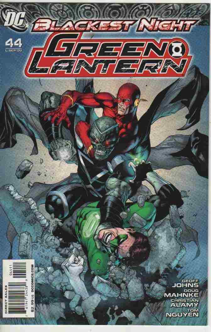 BLACKEST NIGHT -- GREEN LANTERN  Nº 44