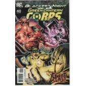 BLACKEST NIGHT -- GREEN LANTERN CORPS  Nº 40