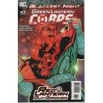 BLACKEST NIGHT -- GREEN LANTERN CORPS  Nº 43