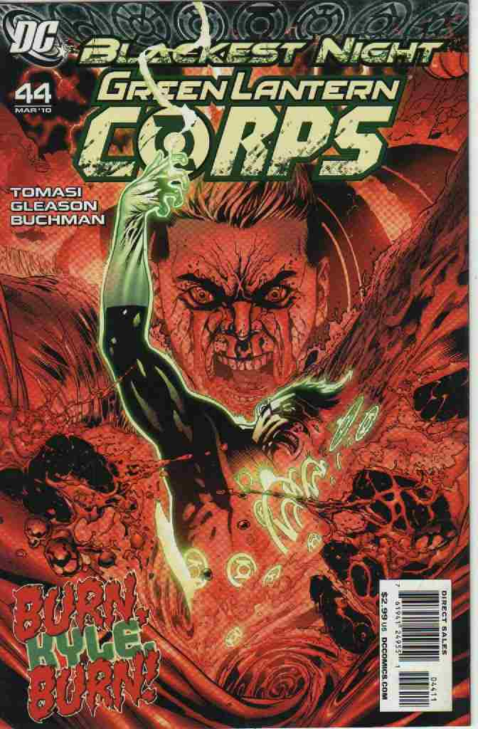 BLACKEST NIGHT -- GREEN LANTERN CORPS  Nº 44