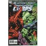 BLACKEST NIGHT -- GREEN LANTERN CORPS  Nº 45
