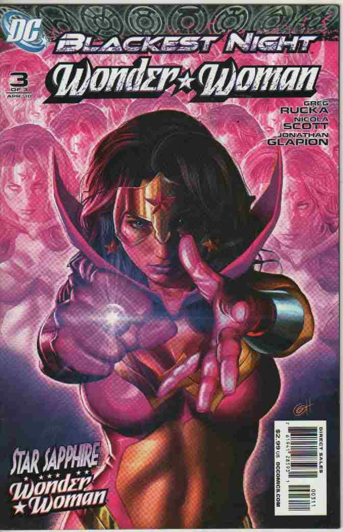 BLACKEST NIGHT -- WONDER * WOMAN Nº 3