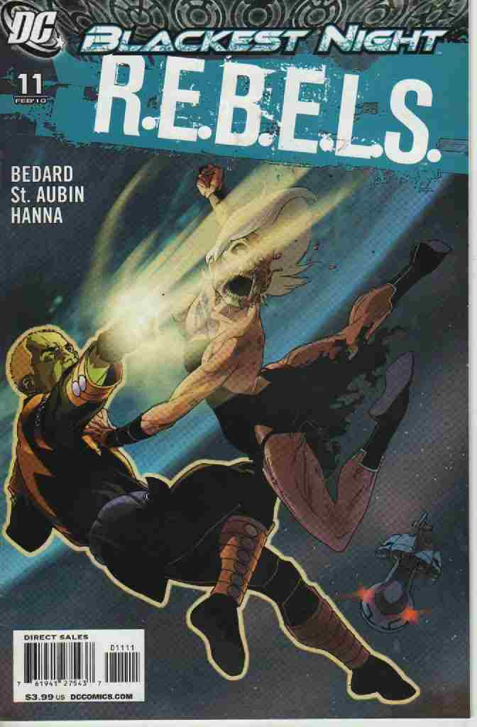 BLACKEST NIGHT -- R.E.B.E.L.S.   Nº11