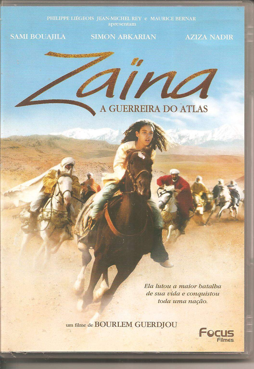 DVD ZAINA A GUERREIRA DO ATLAS