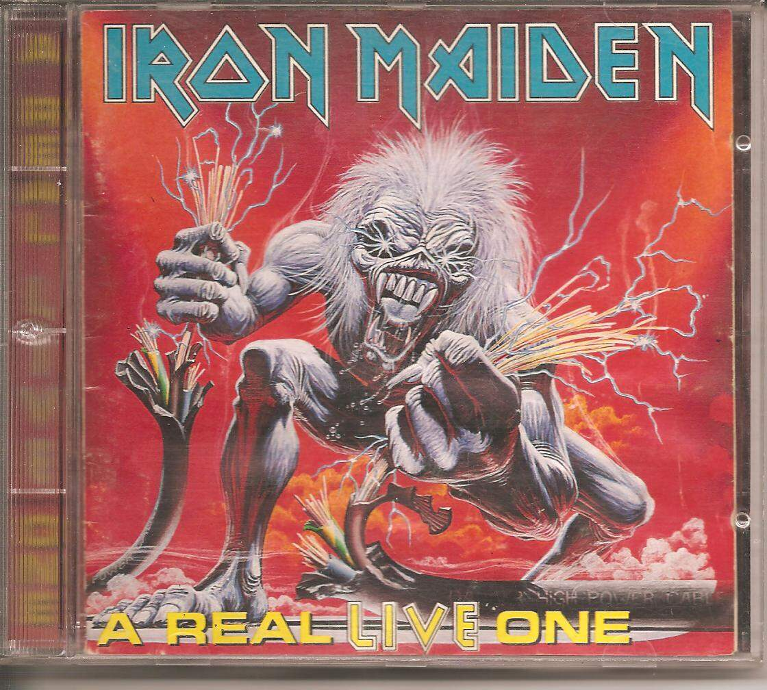 CD IRON MAIDEN - A REAL LIVE ONE