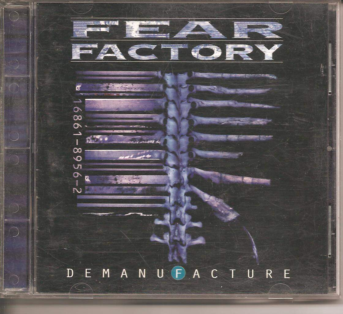 CD FEAR FACTORY - DEMANUFACTURE