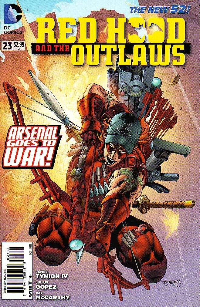GIBI RED HOOD AND THE OUTLAWS  N°23