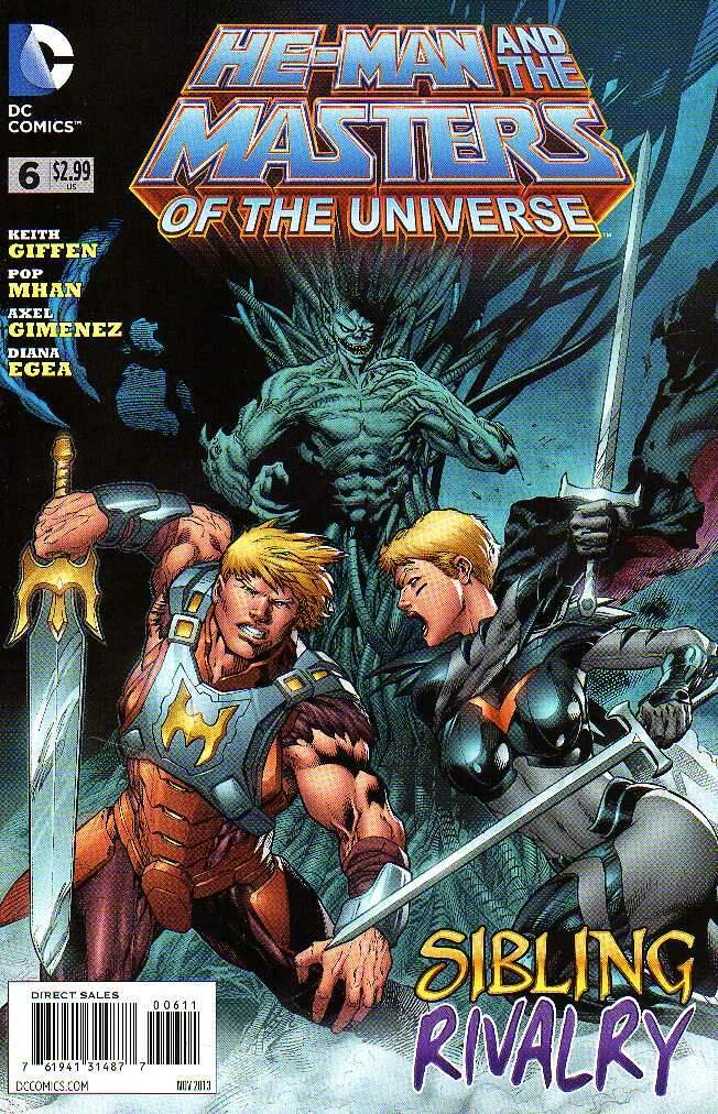 GIBI HE-MAN AND THE MASTERS OF THE UNIVERSE N°06