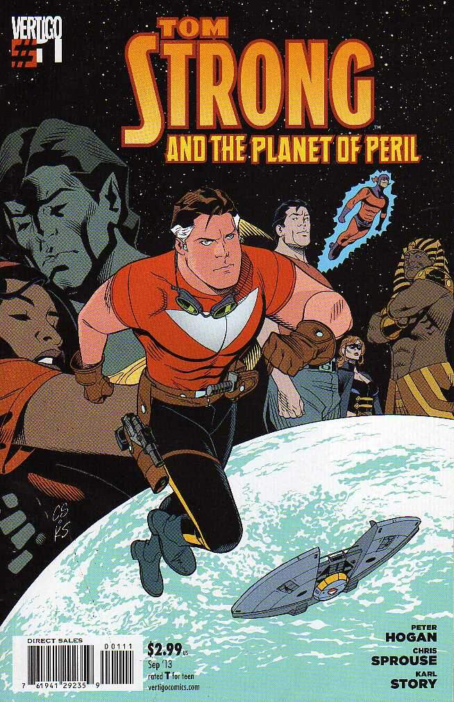 GIBI TOM STRONG AND THE PLANET OF PERIL N°01