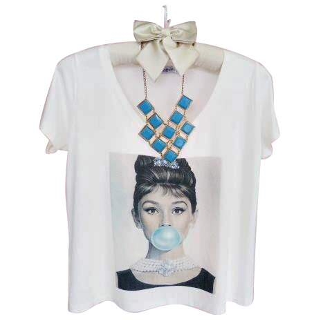 T-Shirt fashion Audrey Bubble Gum- Gola V
