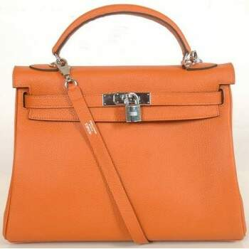 Bolsa Hermès Kelly Orange
