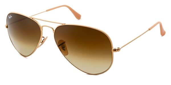 Ray Ban Aviador RB3026 Marrom Degradê 112/85