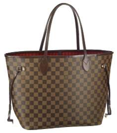 Bolsa Louis Vuitton Neverfull Damier Ebene GM - PREMIUM
