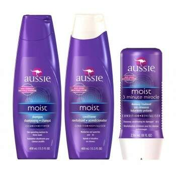 Aussie Moist Kit Shampoo + Condicionador 400ml + 3 Minute Miracle  236ml