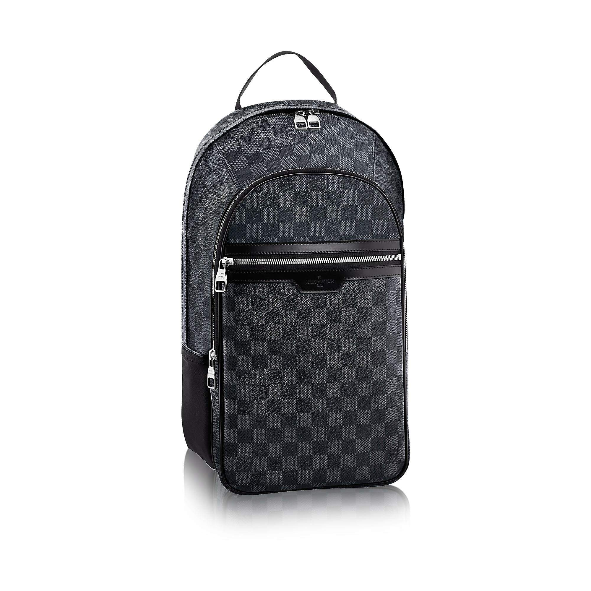 Mochila Louis Vuitton - Michael Canvas Damier Graphite