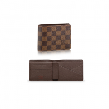 Carteira Masculina Louis Vuitton Multiple Damier Ebene