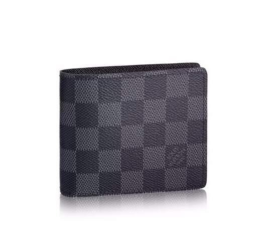 Carteira Masculina Louis Vuitton Multiple Damier Graphite