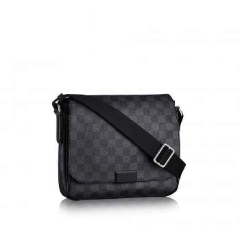 Pasta Messenger District - Canvas Damier Graphite