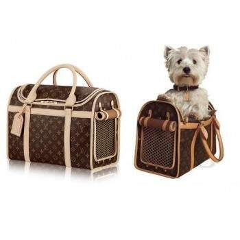 Mala Louis Vuitton Bag Dog Carrier 40cm
