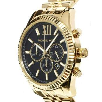 Relógio Masculino Michael Kors Lexington Gold Mk8286