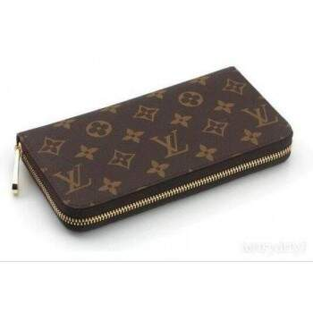 Carteira Louis Vuitton Zipper Monogram - Premium