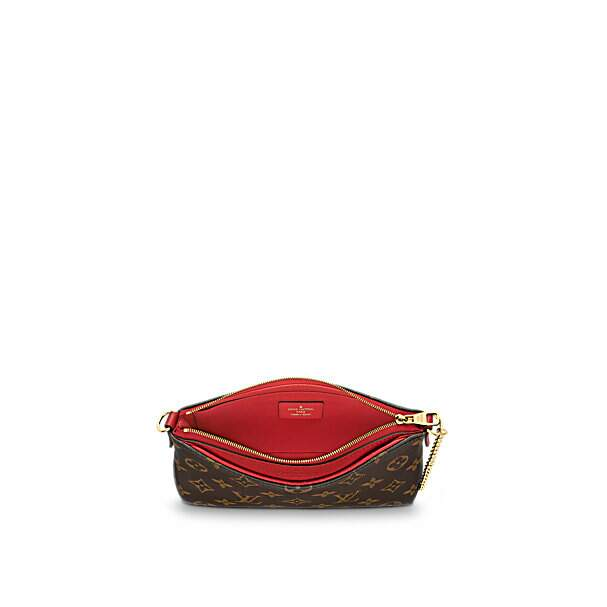 Clutch Louis Vuitton Pallas Monogram Canvas