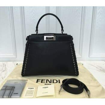Bolsa Fend Peekaboo Medium Stitch Threading