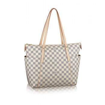 Bolsa Louis Vuitton Totally Damier Azur MM