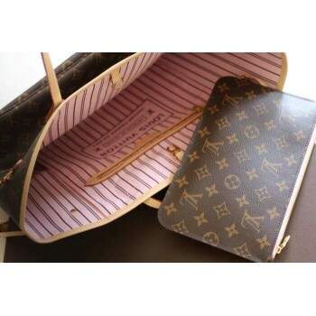Bolsa Louis Vuitton Neverfull MM Ballerine Rosa - Premium