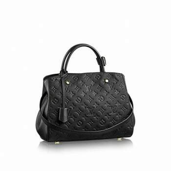 Bolsa Luis Vuitton Montaigne MM Black