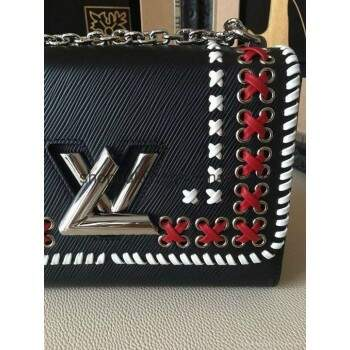 Bolsa Louis Vuitton Twist MM Cruise Black I