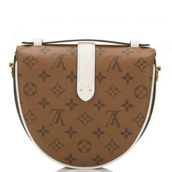 BOLSA LOUIS VUITTON CHANTILY LOCK MONOGRAM BRANCA