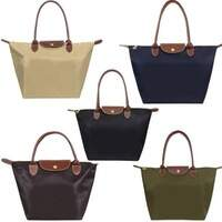 Bolsa Longchamp Le Pliage Media - Alça Media