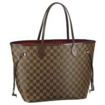 Bolsa Louis Vuitton Neverfull Damier Ebene MM