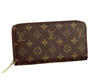 Carteira Louis Vuitton Zipper Monogram
