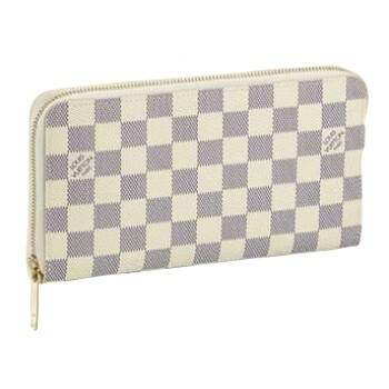 Carteira Louis Vuitton Zipper Damier Azur